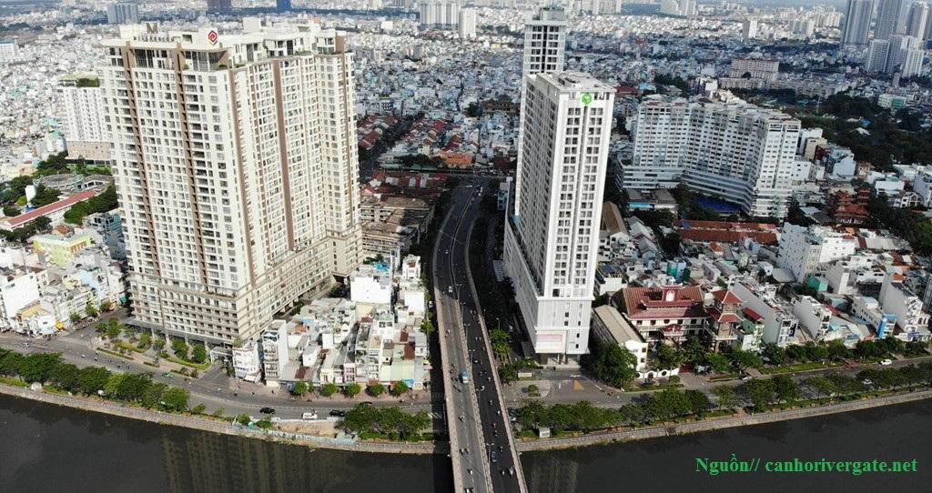 Cho thuê căn hộ Studio River Gate