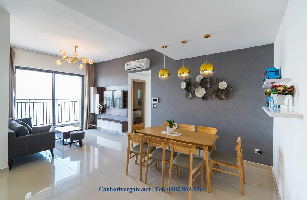 Cho thuê River Gate Apartment theo ngày quận 4